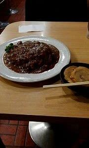 カレー道場 黒帯で夕食!!