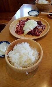 じんぎすかんの白樺で昼食!!