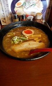 らーめん四代目いちまるで昼食!!