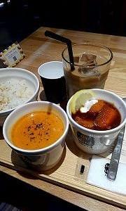 Soup Stock TOKYOで昼食!!