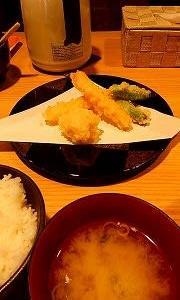 天ぷら嵐で昼食!!
