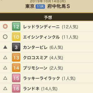 府中牝馬S 2019.10.14