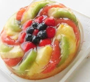 7~8月レッスン フルーツゼリーケーキ