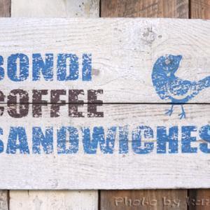 ホットサンド BONDI COFFEE SANDWICHES(ボンダイ コーヒー サンドウィッチーズ)@代々木公園