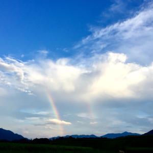 虹=ダブルレインボーありがとう^ ^