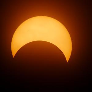 2019年の事始め * 山羊座の部分日食
