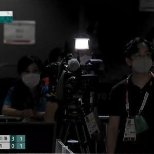 伊藤美誠に妨害ライト? 韓国SBSの中継動画を使ってこの目で確認してみました!