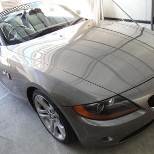 BMW・Z4車内まるごとクリーニング!