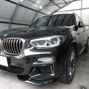 BMW・X3車内まるごとクリーニング!
