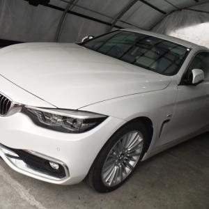 BMW420i車内まるごとクリーニング!