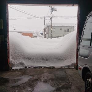 もう雪はいりません(´;ω;`)ウゥゥ