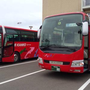 赤バス出動中②