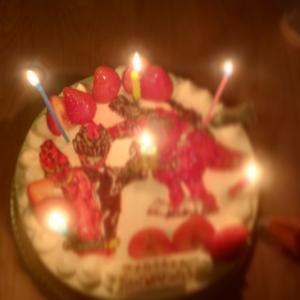 息子ちゃんの誕生日会