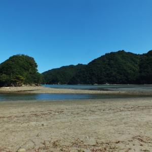 徳島県の新旧エンジェルロード(現行は三ツ島)