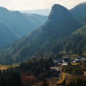 「宇佐のマチュピチュ」の秋葉山へ20分程で登頂(大分県)