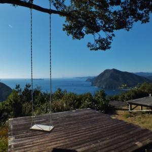 大分県のハイジのブランコ中、一番の絶景地(たかひら展望公園)