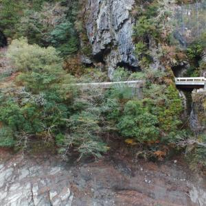 「土佐の青の洞門」的大北川隧道(大川村)