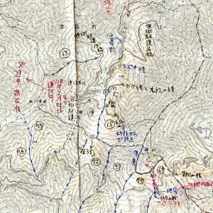 アケボノツツジの篠山のマイナールート考察(コロナ対策)