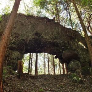 福岡県の山上洞門(1)針の耳(みやこ町)