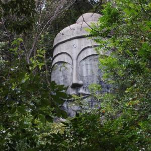 日本のオルメカ人頭像?大釈迦座像(熊本県玉名市)