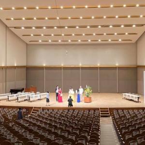 サンアゼリアで第18回清水かつら記念日本歌曲歌唱コンクール開催