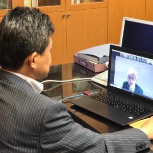 リモート会議で「PFI/PPP推進首長会議関東ブロックプラットフォーム」に出席