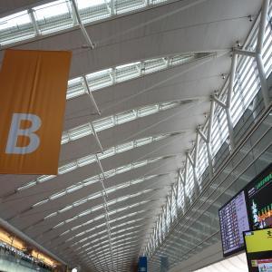 羽田空港第2ターミナルからの出発