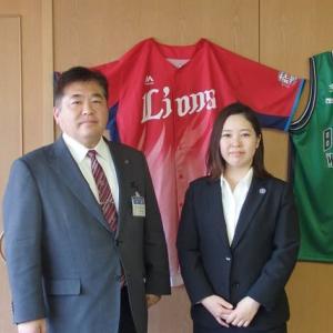 青年海外協力隊 飯田さんの訪問