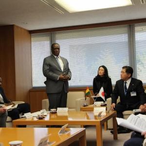 ガーナ大使が所沢市に視察に来られる!!
