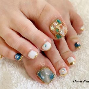 *お客様foot nail*10art
