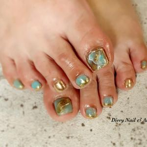 *お客様foot nail*2artお任せ