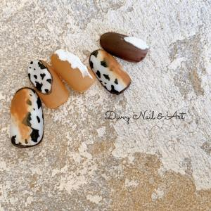 new sample*cow nails。