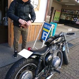 バイクを見せびらかしに来た!!!!