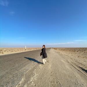 ウズベキスタンでカウントダウン