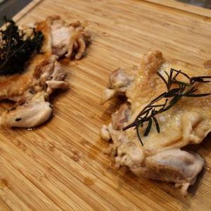 Syuでチキンソテーにハーブの風味をつけるワークショップ開催しました。