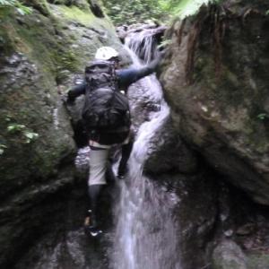 大石ダムから梁山泊へ、初めての沢登り💦
