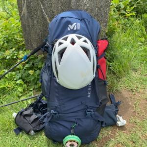テント泊トレーニング、ザック13.5キロで多宝山