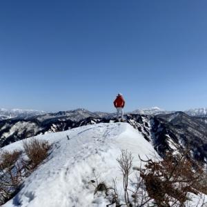 残雪の牟礼山