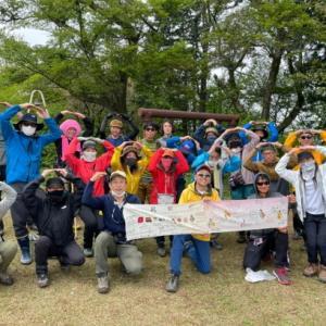 B型ばかりで角田山ハイキング