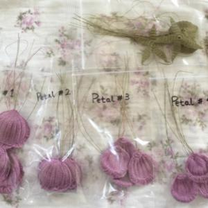 編み掛けも少しずつ~・・・