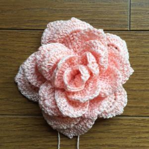 しつこく花編んでます♪