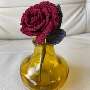ブローチになったのは薔薇でした!