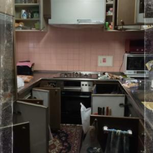 キッチン片付け ②
