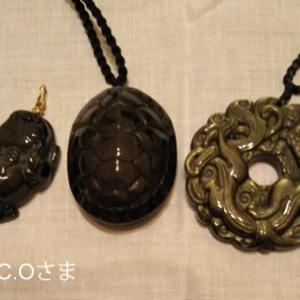 オブシディアンの亀、コロンとして可愛いです