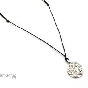 純銀の龍ペンダントのネックレス