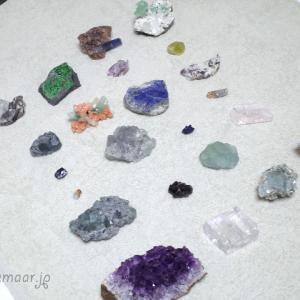 選ばれた愛鉱石たち