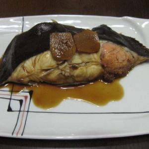 カレイの煮魚
