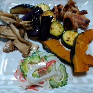 お家で色々なお野菜を食べる