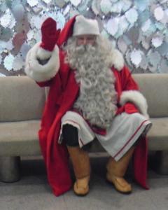 サンタさんに会った事あるだすよ(笑)