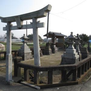 狛犬その522【潮斉神社・みやま市】